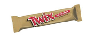 twix ice cream treats, twix ice cream bars
